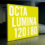 "Parete a LED ""Octalumina 120"" autoportante"