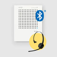 "Interfono ""VoiceBridge"" - incluse cuffie Bluetooth"