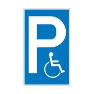 Cartelli parcheggio e divieto di sosta in plastica