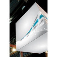 "Banner con stampa digitale per stretch in frame ""Cube"""