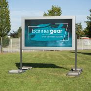 "Bannergear® Piantana ""Mobil LED"", bifacciale"