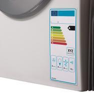 Tasca protettiva per etichette energetiche con puntini adesivi