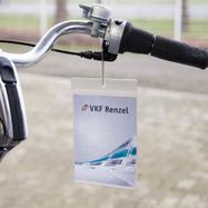 Tasca portaprezzo standard in PVC morbido con un inserto