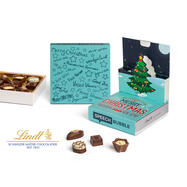 Mini Praline Lindt nella Scatola Pop Up di Natale