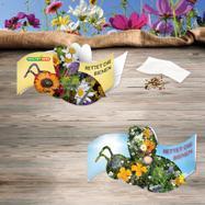 "La card adesiva ""Save the bees"""