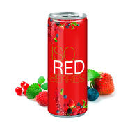"Iso Drink ""Redberries"" in lattina"