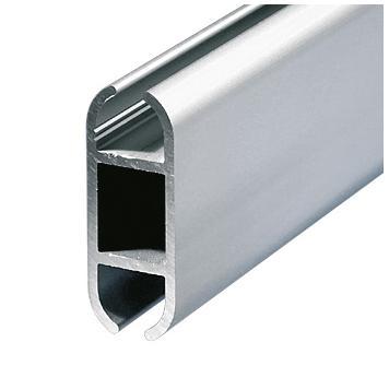 """Binario in alluminio piatto """"Rail"""""""
