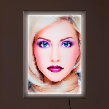 """Cornice luminosa a LED """"Simple"""", monofacciale"""