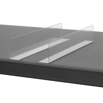 Divisorio con angolo adesivo