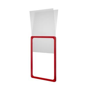 Tasca a U in PVC rigido per cornici portaposter