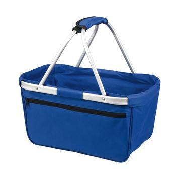 "Shopper ""BASKET"" - cestino spesa pieghevole in stoffa"