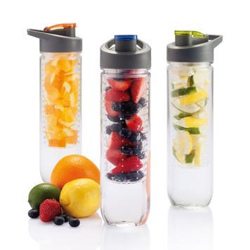 Bottiglia per acqua con infusore