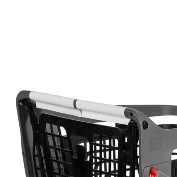 Pellicola di protezione da contatto autoadesiva per carrelli e cestini della spesa