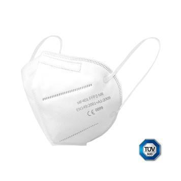 Mascherina di protezione respiratoria FFP2, Confezione: 10 pezzi