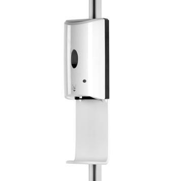 """Sensor-Wall - Kit di retrofit, Dispenser di disinfettante per il profilo dell'asta """"Flexo""""."""