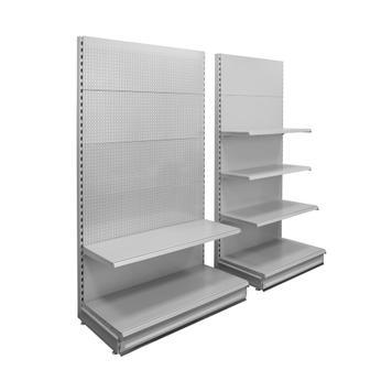 """Sistema a scaffalatura """"Eden I"""", scaffale in metallo con pareti levigate"""