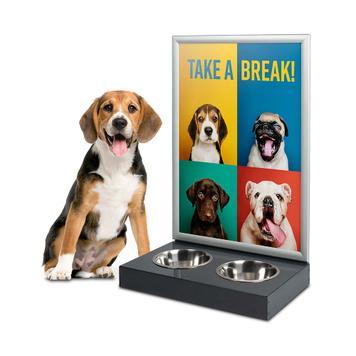 Punto di abbreveraggio per cani