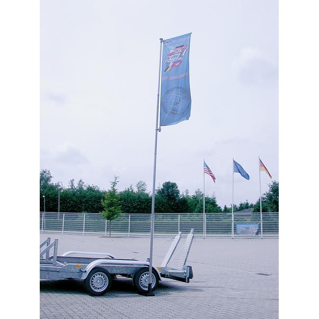 Bandiera per asta telescopica
