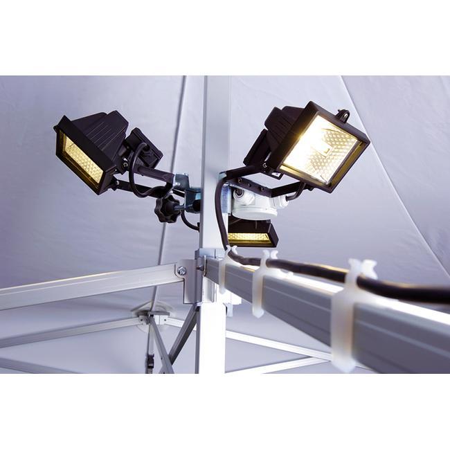 Illuminazione per gazebo promozionale