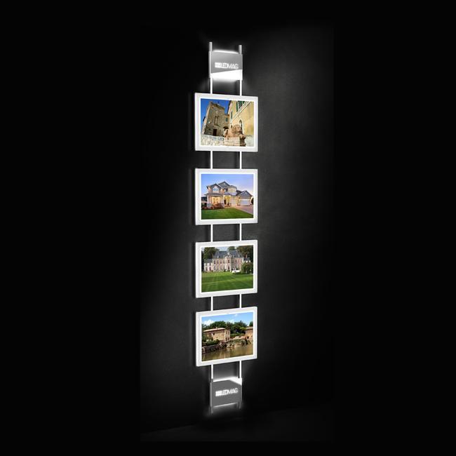 Sistema magnetico a LED
