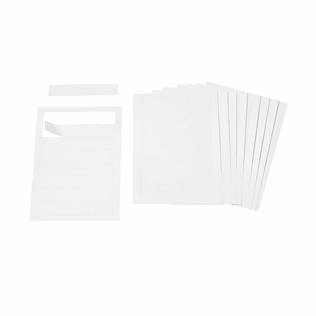 """Etichette per targhetta per porta """"Silver"""""""