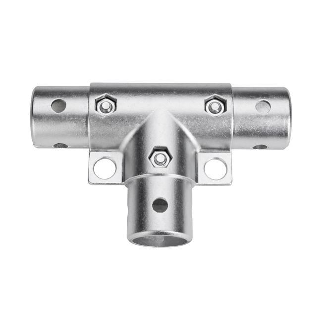 """Sistema a innesto per cornici portabanner in alluminio """"elemento a T - pressofusione"""""""