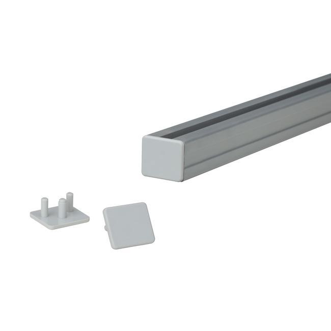 Tappini per binario portaposter da 19 mm