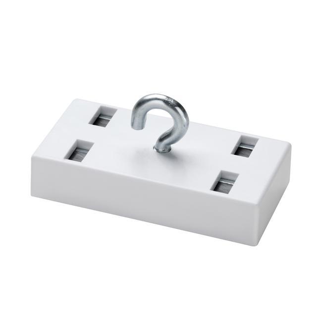 Magnete decorativo rettangolare. Capacità di carico 7-10 kg
