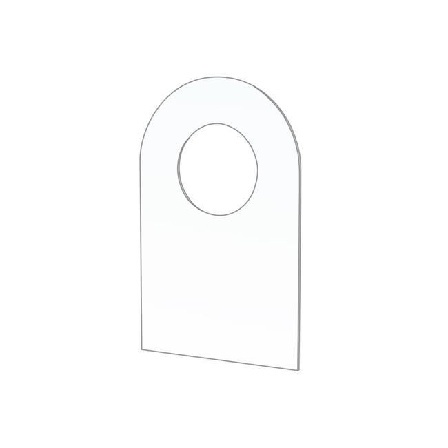 Accessorio per gancio per pannello forato