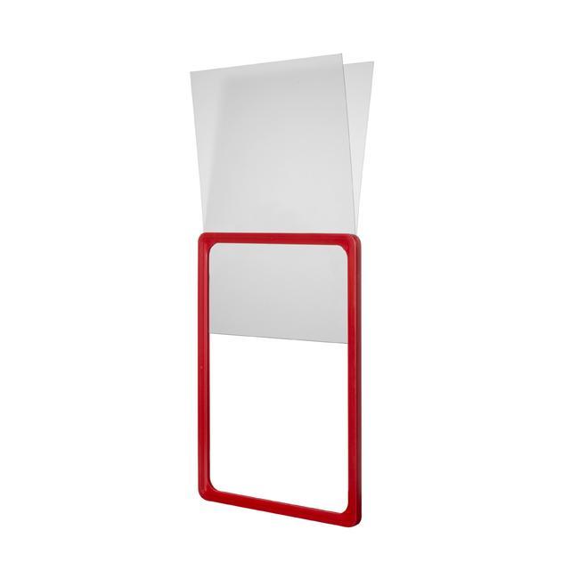 Tasca a U in foglio rigido per cornici portaposter