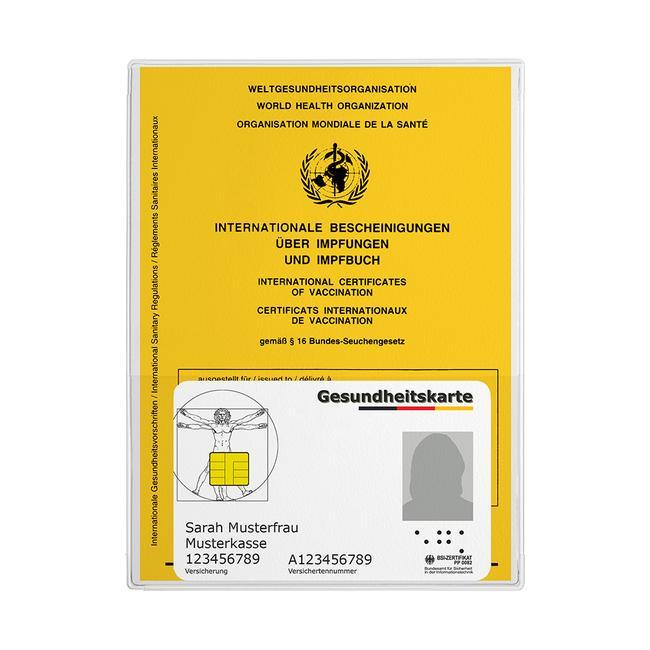 Cover della scheda di vaccinazione