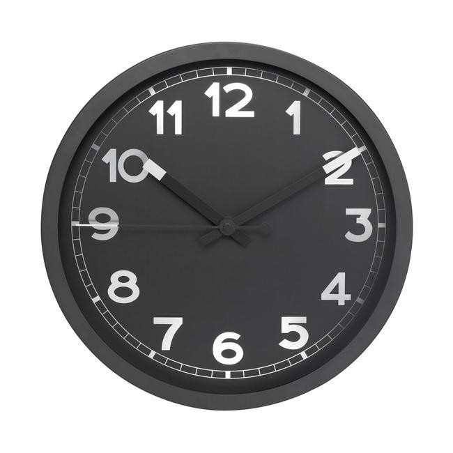Orologio a parete REFLECTS-REDDITCH, anche con stampa pubblicitaria