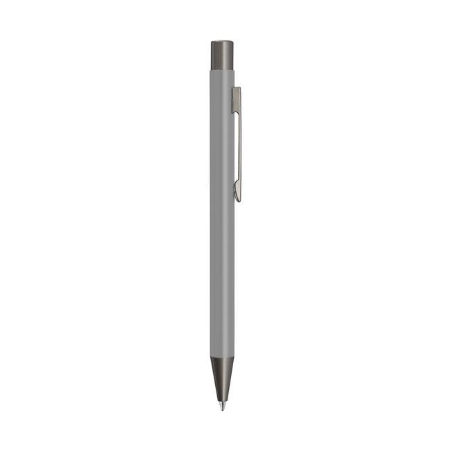 """Penna a sfera in metallo """"Straight Gum"""" con applicazioni in colore canna di fucile"""
