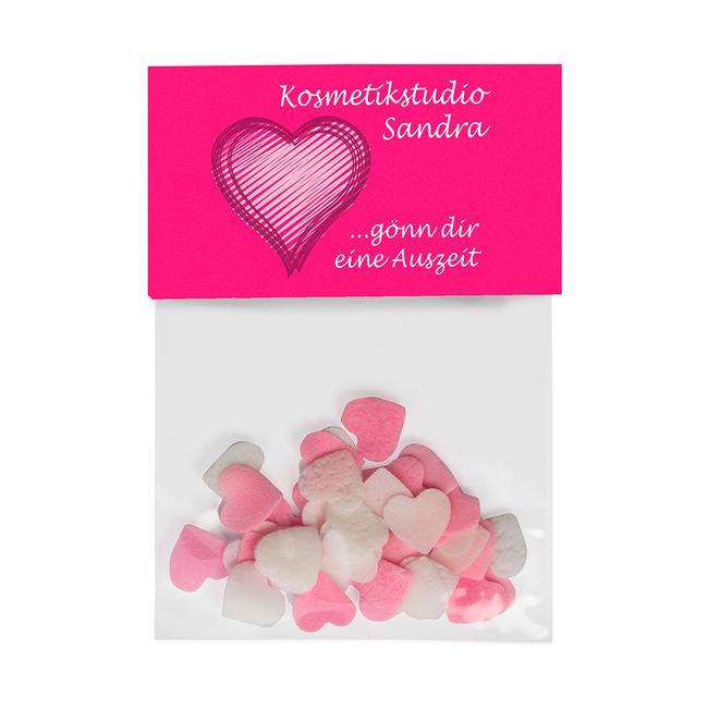 "Coriandoli da bagno ""Lovely Heart"""