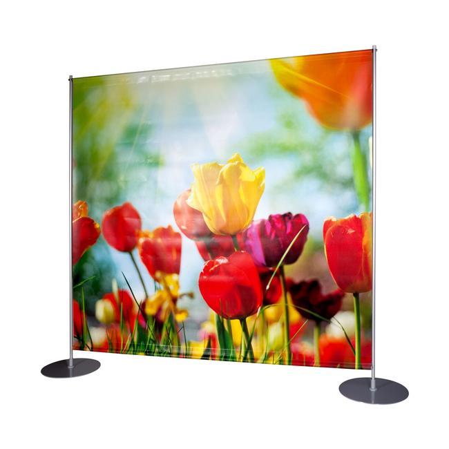 """Banner stampa digitale per display """"Profilo-Como"""""""