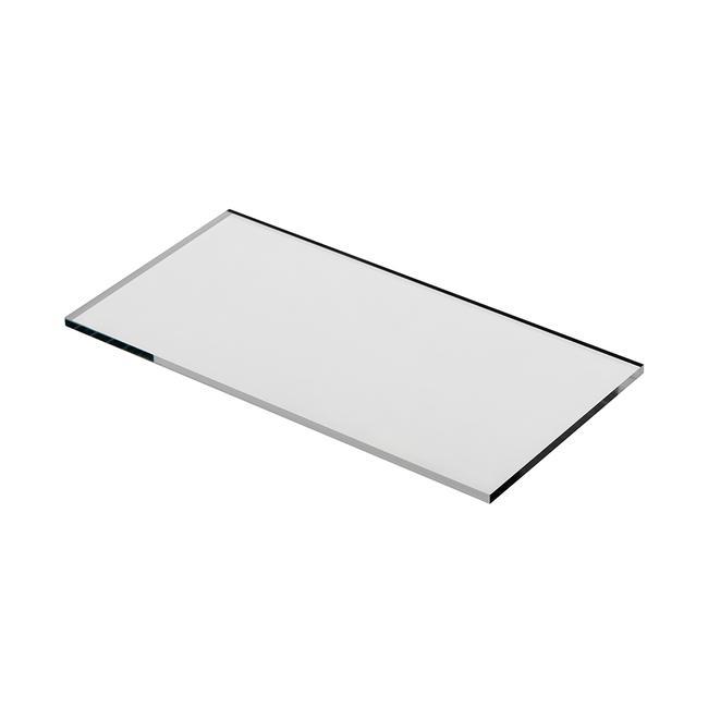 Pannello in vetro acrilico tagliato su misura