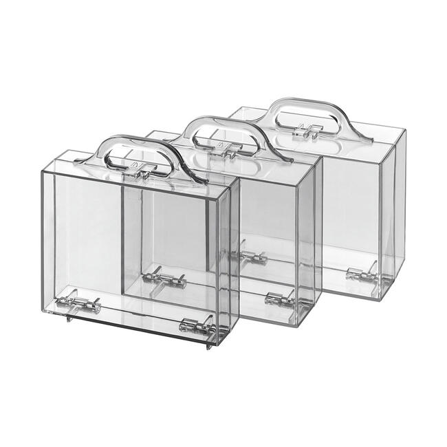 """Scatola in plastica in forma di valigetta  """"Mini"""""""