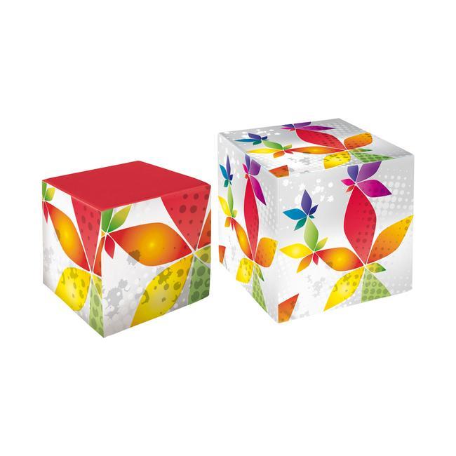 "Sgabello a cubo ""Print"""