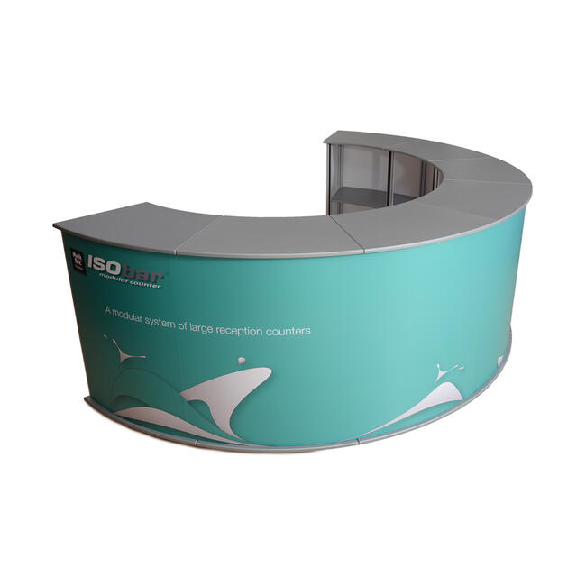 """Pannello con stampa digitale per stand """"ISOframe"""""""
