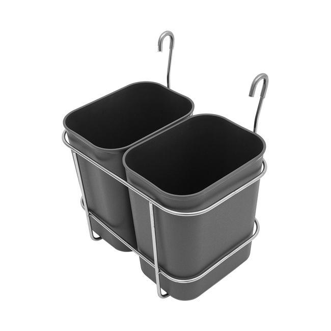 Bidone rifiuti per carrello di servizio