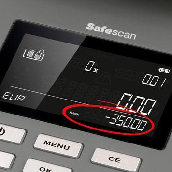 Safescan 6165 bilancia contasoldi