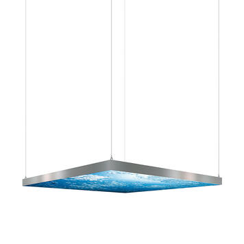 "Parete luminosa a LED ""Octalumina 120"" versione a soffitto"