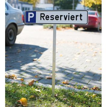 Paletto per cartelli di parcheggio
