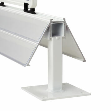 Base per profilo per congelatore a vasca