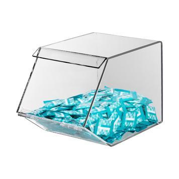 Scatola per caramelle in vetro acrilico