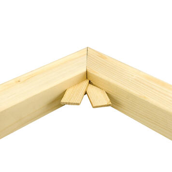 """Telaio pronto in legno """"XL"""""""