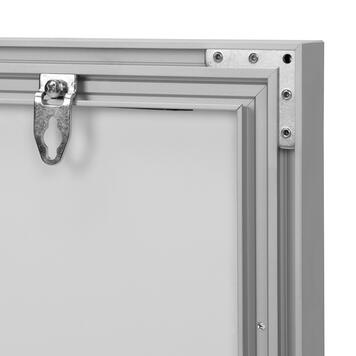 Stretch in frame con LED, monofacciale