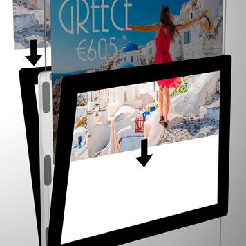 """Espositore multiplo a LED """"Display it"""""""