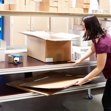 """Tavolo mobile da laboratorio """"Quattro"""""""
