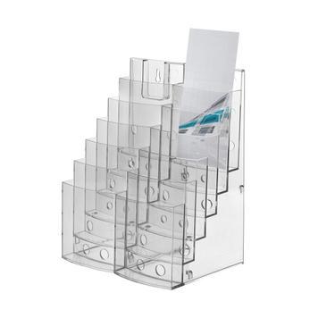 """Distributore per volantini a 3 o 6 file """"Vicia"""" con moduli laterali"""
